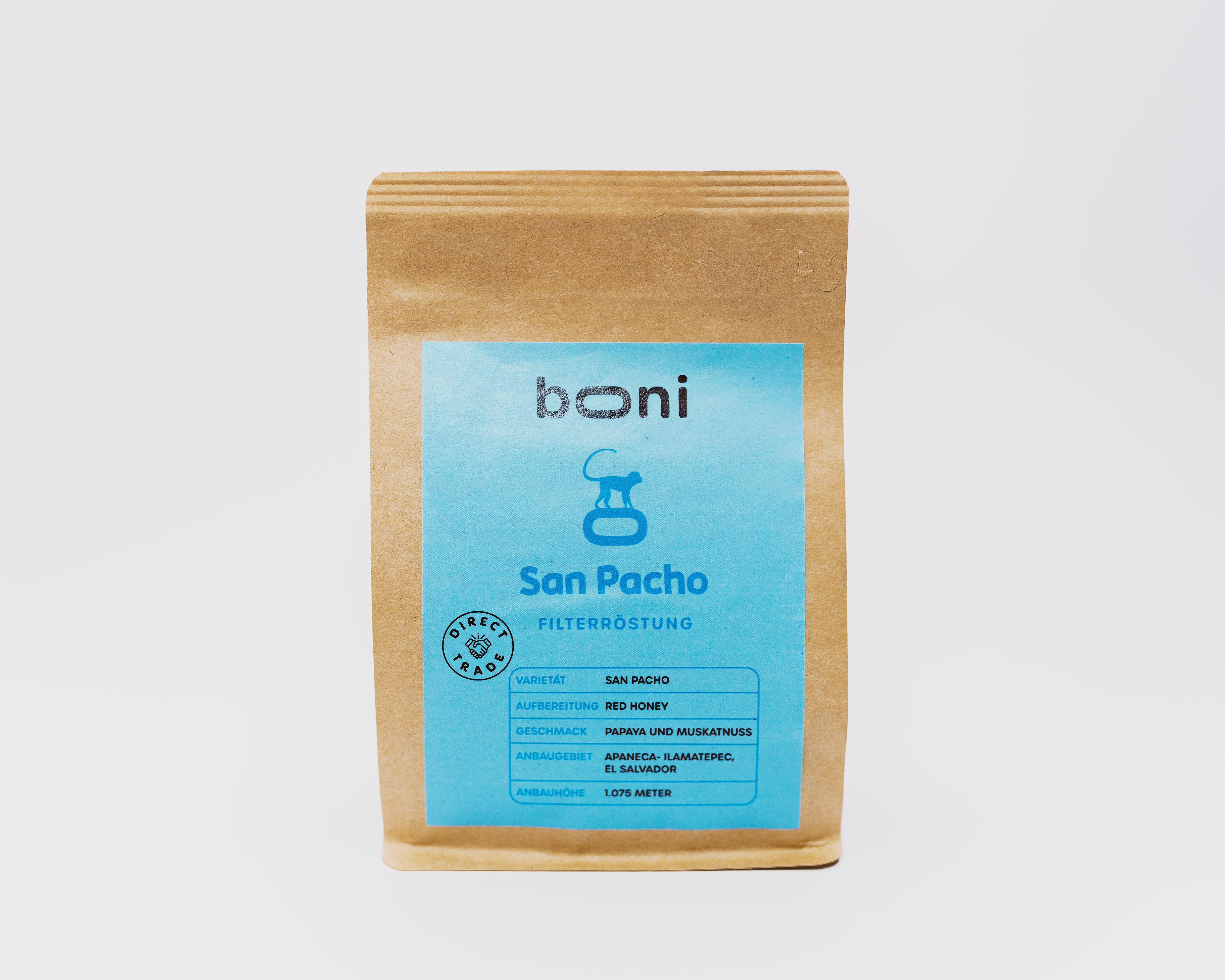 San Pacho - Filterröstung