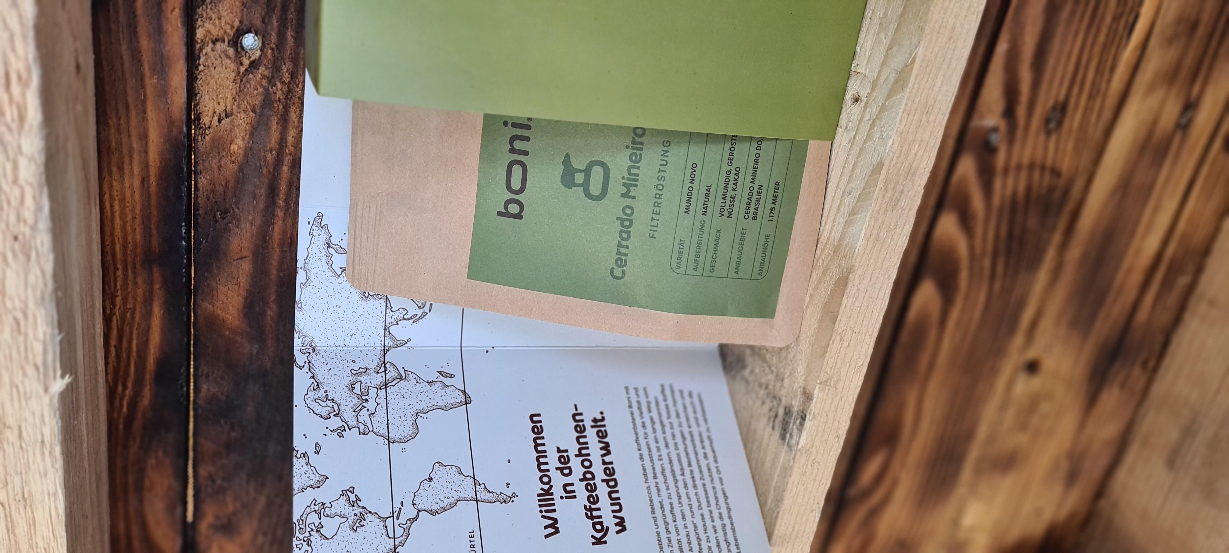 Kaffee-Buch Cerrado Mineiro Filterröstung